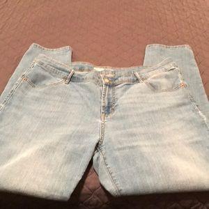 Old Navy Light Denim Super Skinny Jeans
